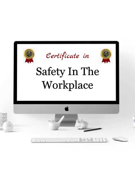 Certificate Safety In The Workplace