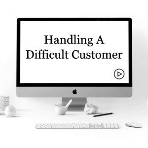 Handling a Difficult Customer Course Outline: