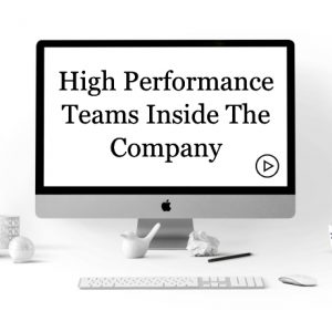 High Performance Teams Inside the Company Course