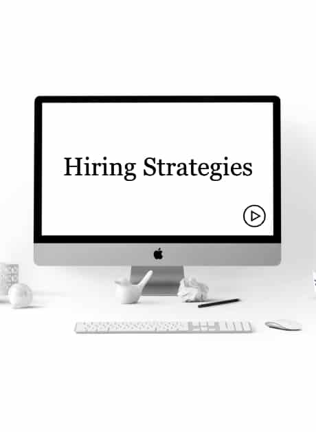 Hiring Strategies Course