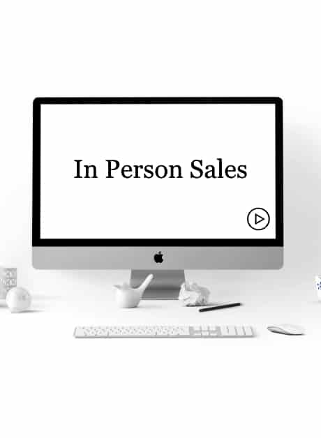 In Person Sales Course