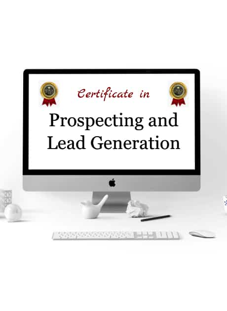 certificate in Prospecting and Lead Generation